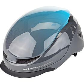 KED Mitro UE-1 Helm, blue/grey
